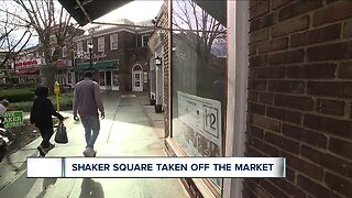 Shaker Square owner takes shopping center off the market in response to redevelopment protests