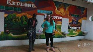 Royal Palm Beach artist creates mural for Kenyan school