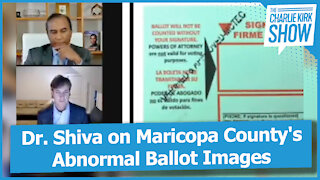Dr. Shiva on Maricopa County's Abnormal Ballot Images