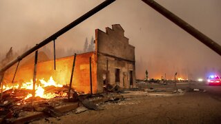 Dixie Fire Destroys Town Of Greenville, California