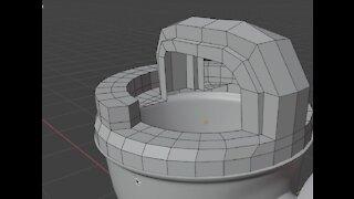 Blender Beginners Tutorial E.6 - Random object Modeling
