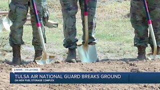 Tulsa Air National Guard Breaks Ground