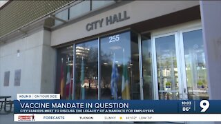 City council member discusses legality behind vaccine mandate for city employees