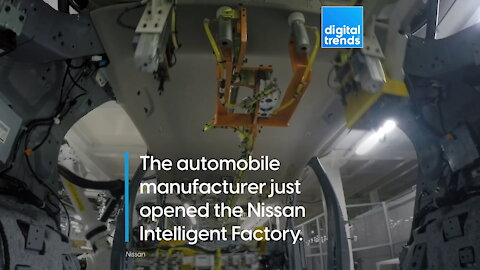 Watch Nissan's awesome new 'Intelligent Factory' in action