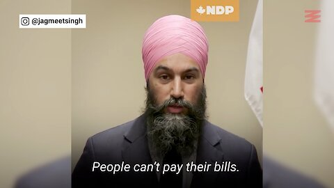 Jagmeet Singh Is Urging The Government To Give Every Canadian $2K Right Now
