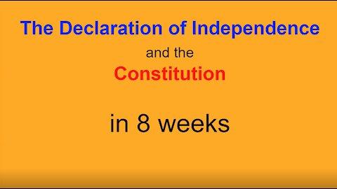Constitution 101 class #1