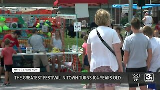 'The Greatest Festival in Town' celebrates its 104th year