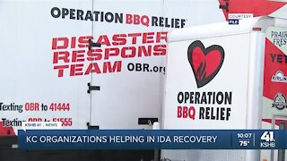 Kansas City-area organizations are en route to offer aid to those affected by Hurricane Ida