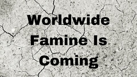 The Coming Famine~ 3rd and 4th Seal of Revelation Bible Study