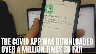 Canada's COVID Alert App Has Been Downloaded Over A Million Times In Just 3 Days