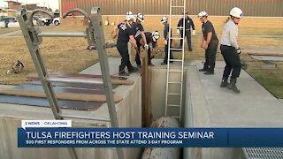 Tulsa Firefighters Host Training Seminar