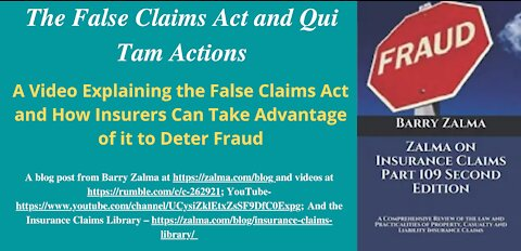 The False Claims Act and Qui Tam Actions