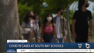 COVID-19 cases at South Bay schools