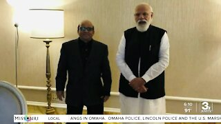 Omaha chef cooks for India's Prime Minister