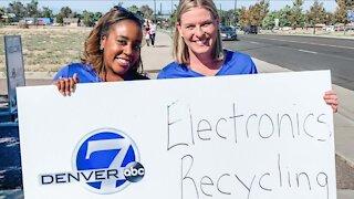 Denver7 Electronics Recycling Drive, Sept 18 Recap at 10PM