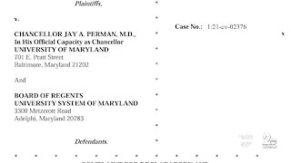 Lawsuit filed against the University System of Maryland over vaccine mandates