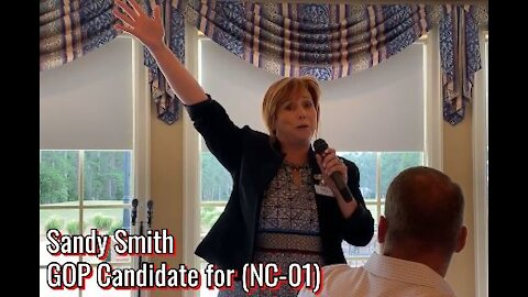 NC GOP Congressional Candidate Sandy Smith Speaks at a Women's Function