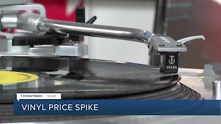 National vinyl shortage leads to local price spike