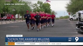 Tucson Fire Department awarded more than $5 million in federal grants