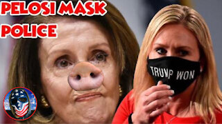 Nancy Piglosi ORDERS Capital Police To ARREST House Members NOT Wearing Masks!