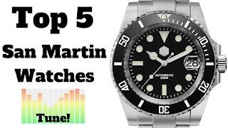 🏆 Top 5 Most Popular San Martin Watches on AliExpress