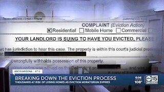 Thousands face danger of eviction as moratorium expires