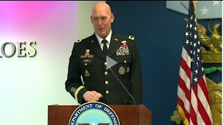 Promotion Ceremony for Brigadier General Lawrence Thoms