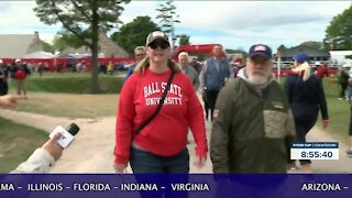 Ryder Cup fans hailing from across the U.S.
