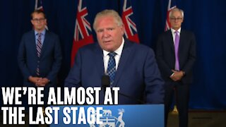 Ford Says Ontario Can Reach Stage 3 This Month But Large Events Are Still Out