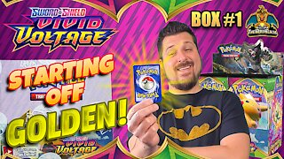 Vivid Voltage Booster Case (Box 1) | Pikachu Hunting | Pokemon Cards Opening