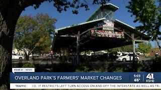 Overland Park's farmers market changes