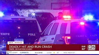 Deadly hit-and-run crash in Tempe