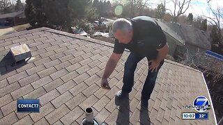 Contact7 getting results: Local company to install free roof for Aurora veteran who lost thousands