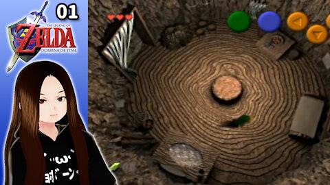 🇺🇸 🇯🇵 Vtuber Let's Play! - 🎵 🕒 Ocarina of Time (Part 01)