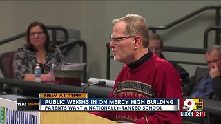 What should replace Mother of Mercy High School?
