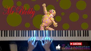 Mr Blobby (piano cover)