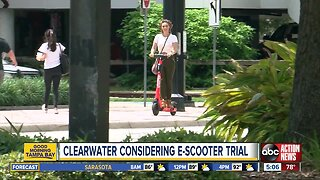 Clearwater considering electric scooter pilot program