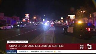 San Diego Police shoot, kill armed suspect