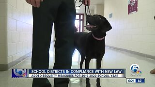 School districts in compliance with new law