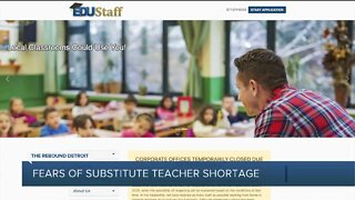 Rebound Detroit: Substitute teacher shortage further exacerbated by pandemic