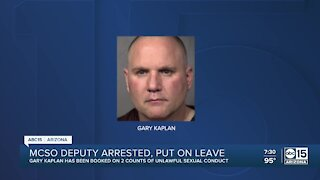 MCSO deputy arrested, put on leave for unlawful sexual conduct