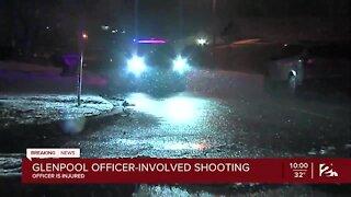 Shooting leaves Glenpool officer injured