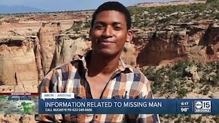 Family asking for any information to help find missing Buckeye man Daniel Robinson