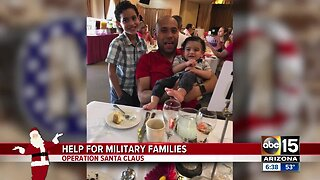 Operation Santa Claus: Help for military families