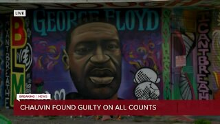 Summer of 2020 murals for George Floyd