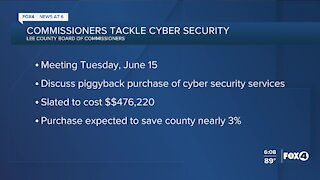 Lee County Commissioners to discuss cybersecurity