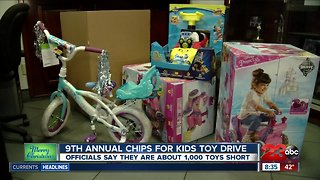 CHiPS for Kids Toy Drive in East Bakersfield