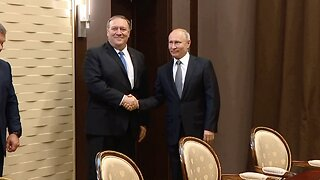 Secretary Of State Pompeo Visits Putin And Russian Foreign Minister