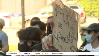 Citizens rally to defund the police