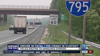 Man dead after hit-and-run crash on I-795